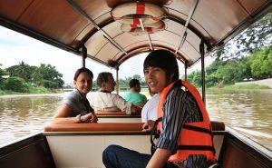 ล่องเรือแม่น้ำปิง maeping river cruise