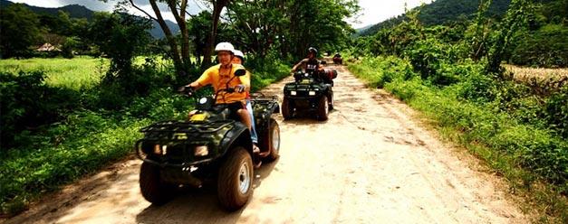 ทัวร์ล่องแก่ง ขับรถ ATV ตะลุยป่าผจญภัย เชียงใหม่