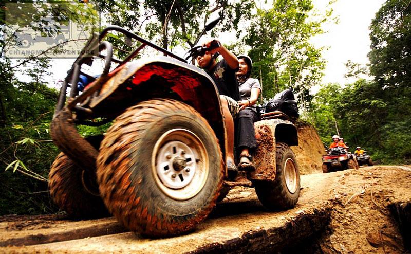 ขับรถ ATV บ้านแม่ตะมาน เชียงใหม่
