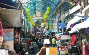 ตลาดชายแดนแม่สาย chiang rai white temple one day tour