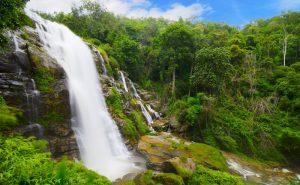 น้ำตกวชิรธาร doi inthanon national park chiang mai