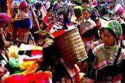 ตลาดชาวเขา บนดอยอินทนนท์ doi inthanon national park chiang mai
