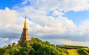 พระมหาธาตุเจดีย์ นภเมทนีดล – นภพลภูมิสิริ doi inthanon national park chiang mai