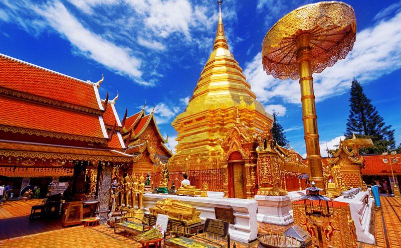 องค์พระธาตุดอยสุเทพ doi suthep temple bhubing palace tour