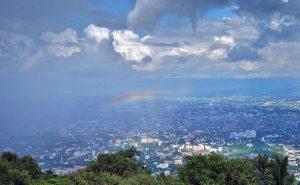 จุดชมวิว วัดพระธาตุดอยสุเทพ doi suthep temple hmong village tour