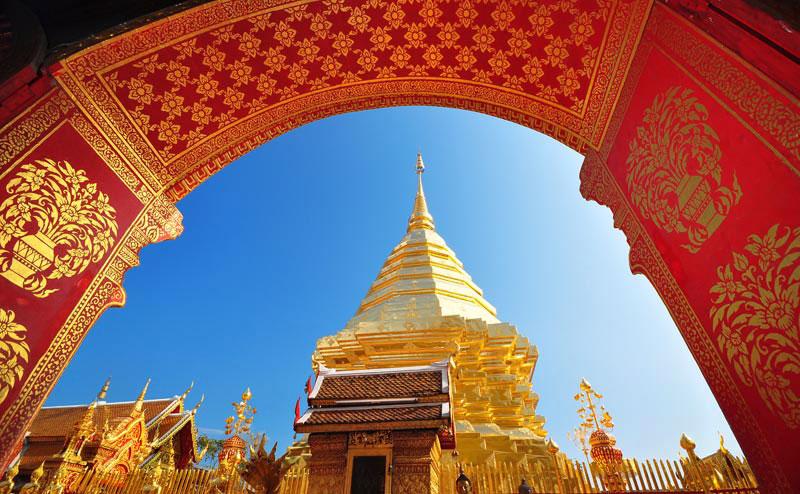 องค์พระธาตุดอยสุเทพ doi suthep temple hmong village tour