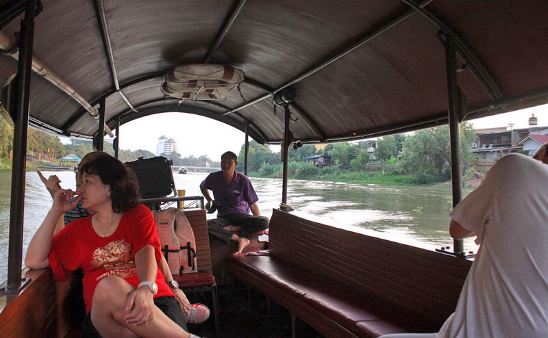 นั่งเรือชมแม่น้ำปิง maeping river cruise