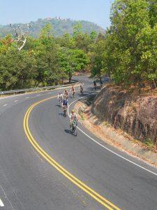 เส้นทางปั่นจักรยานลงดอยสุเทพ