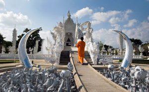 วัดร่องขุ่น chiang rai white temple one day tour