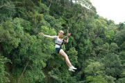โหนสลิง Jungle Flight ดอยสะเก็ด เชียงใหม่