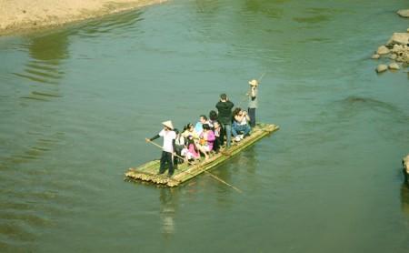 ล่องแพไม้ไผ่ แม่น้ำแม่แตง เชียงใหม่