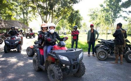 ขับรถ ATV อ่างเก็บน้ำห้วยตึงเฒ่า เชียงใหม่